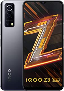 iQOO Z3 5G (Ace Black, 8GB RAM, 128GB Storage) | India's First SD 768G 5G Processor | 55W FlashCharge | Upto 6 Months No C...