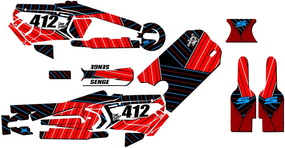 16 Rim decals included STACYC 16 E-Drive Brushless CUSTOMIZABLE Race Series Green Senge Graphics Kit
