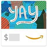 Amazon eGift Card - Yay It's Your Birthday