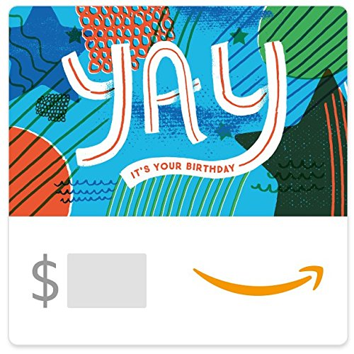 Amazon eGift Card - Yay It's Your Birthday