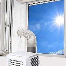 Vegena Raamafdichting voor Mobiele Airconditioners, 400CM Universele Afvoerluchtdroger Airconditioning Raamafdichting Hete...