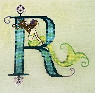 Letters From Mermaids-R Cross Stitch Chart