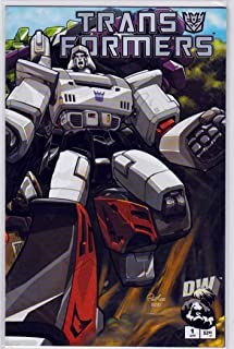 Transformers Generation One #1 (2002) Pat Lee Cover Art
