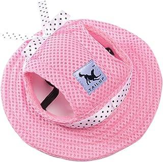 Mascota Perro del acoplamiento del casquillo sombrero de la