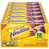 One tray with 12 cookie snack packs (2 cookies per pack) of Newtons Soft & Fruit Chewy Fig Cookies Soft cookies made with real fruit and no high fructose corn syrup 10 g of whole grain per 56 gram serving Pack in a lunchbox for easy prep or grab a sn...