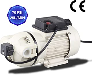 TDRFORCE Water Diaphragm Pump Electric Self Priming Dispensing Pump 115VAC 25L/Min(6.8GPM) 70PSI for Sprayer Irrigation Liquid Transfer (Factory Pressure Setting: 40PSI)