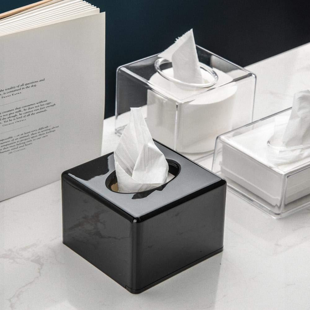 ZHIJING Caja De Pañuelos Cover Acrílico Kleenex Servilletero para ...