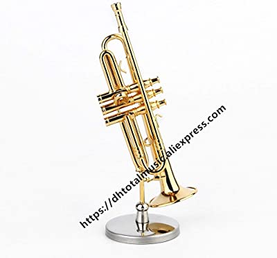 Amazon.com: ZAMTAC Miniature Trumpet Replica Model with ...