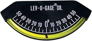 Sun Company Lev-o-gage Sr. Inclinometer and Tilt Gauge | Level for Trailer or 5th Wheel (Renewed)