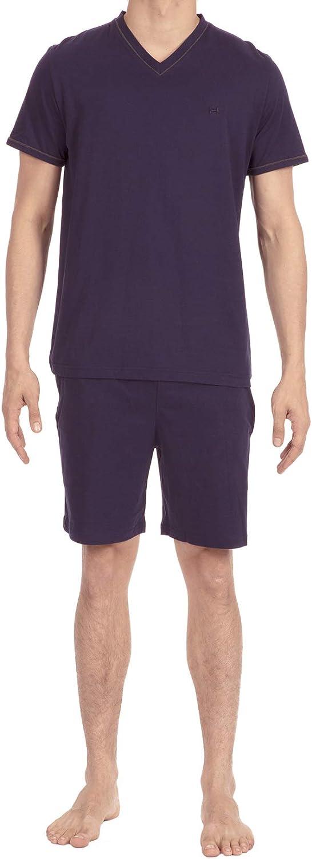 hom Men's Yoga Short Sleepwear 400482