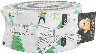 Stacy Iest HSU Snow Day Jelly Roll 40 2.5-inch Strips Moda Fabrics 20630JR