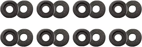 high quality 8 Pairs of Ear Cushions Compatible high quality with Supra Plus Wired Headsets - 8 Pairs - Foam Compatible high quality with 40709-02: HW251, HW251N, HW261N, HW351, HW351N, HW361, HW361N outlet sale