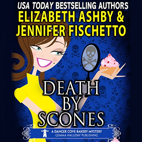 Death by Scones audiobook cover art