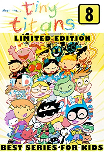 Tiny Series Edition: Book 8 Adventure Graphic Novel Tiny Cartoon Titans Comic Strips For Children (English Edition)