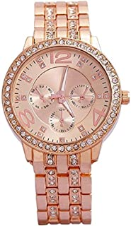 Women Dress Watches Geneva metal wristwatch women Rhinestone Watch