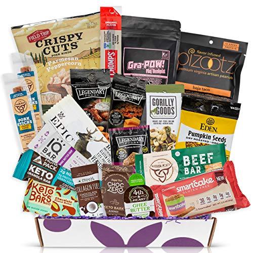 Bunny James Deluxe Keto Snack Gift Box