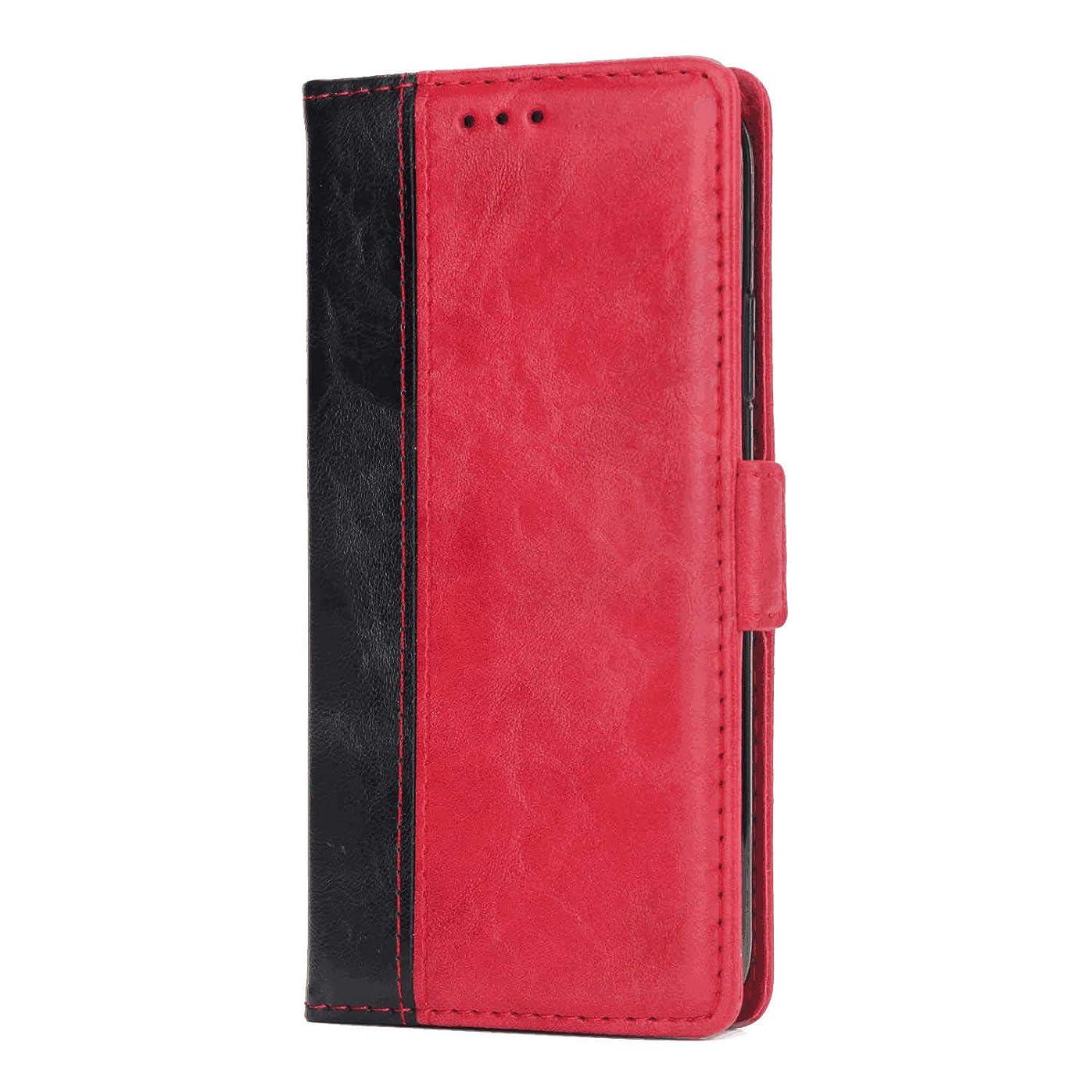 敵意戦争会計士Huawei P20 Lite PUレザー ケース, 手帳型 ケース 本革 全面保護 ビジネス スマホケース カバー収納 財布 手帳型ケース Huawei P20 Lite レザーケース