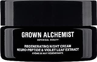 Grown Alchemist Regenerating Night Cream - Neuro-Peptide & Violet Leaf Extract Facial Cream (40 Milliliters, 1.35 Ounces)