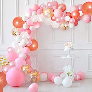 Best rose gold and pink party decorations Reviews