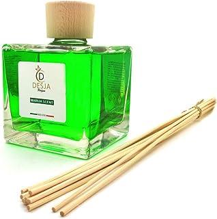 Profumatore ambiente incluso i bastoncini 500 ml Profumazione Marija Scent diffusore profumo completo di confezione