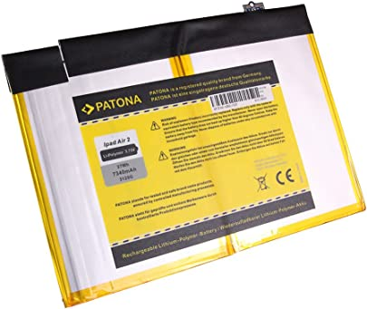 PATONA Akku kompatibel mit iPad Air Accu 7340mAh Schätzpreis : 29,95 €