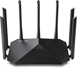 Speedefy AC2100 Smart WiFi Router - Dual Band Gigabit Wireless Router for Home & Gaming, 4x4...