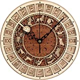 Reloj De Pared Mudo Reloj De Pared Antideslizante Reloj De Madera AstronóMico Reloj De Pared En La Pared De La Sala Reloj De Cuarzo ConstelacióN Reloj De Pared Grande