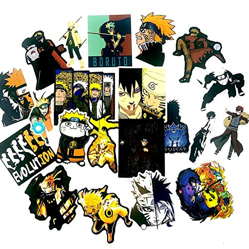AXHZL New Handsome Naruto Graffiti Toy Sticker Forscrapbook Refrigerator Game Machine Skateboard Motorcycle Guitar Luggage 50-PCS