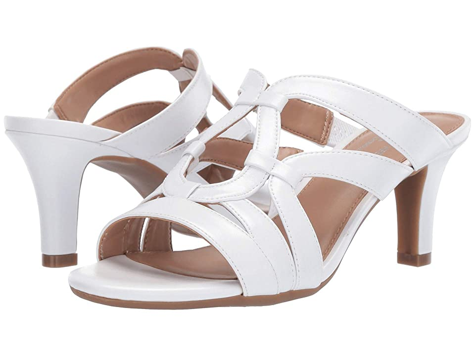 A2 by Aerosoles Passageway (White PU) Women's Sandals