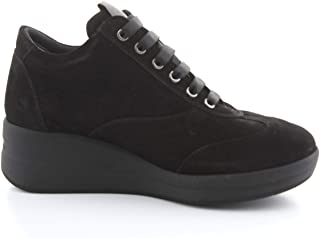 Luxury Fashion | Melluso Women R25610NERO Black Viscose Sneakers | Autumn-winter 20