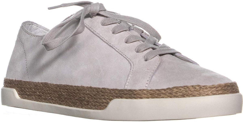 Vince Jadon Lace Up Espadrilles Low Top Sneakers, White