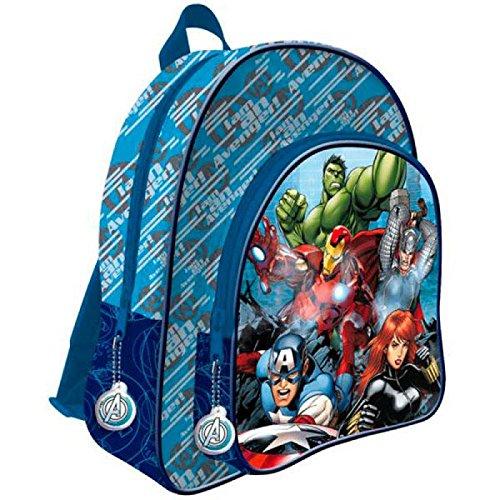 61uJ1DllDkL - Avengers : Mochila Escuela Primaria