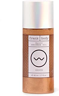 Frank Body Magic Shimmer Oil Smooth, 2.71 Fl Oz