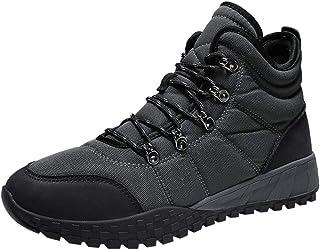 Riou Scarpe da Trekking Uomo Sportive All'aperto Sneakers Alte Traspiranti Arrampicata Stivali da Escursionismo Respirabil...