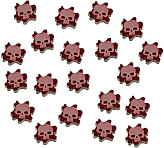 LITKO Flesh Wound Tokens Compatible with WH: KT,  Translucent Red (15)