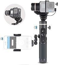 Feiyu G6 Kit 3-Axis Action Camera Gimbal Stabilizer for GoPro Hero 8 Hero 7, Splash Proof Selfie Stick Gimbal for Go pro H...