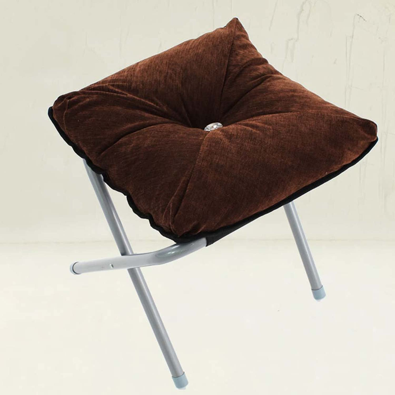 ZHANGRONG- Sofa Stool Change shoes Stool Modern Simple Living Room Folding Fabric Sofa Stool (Style Optional) (color   9)