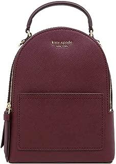 Kate Spade New York Cameron Street Saffiano Leather Mini Convertible Backpack, Wine