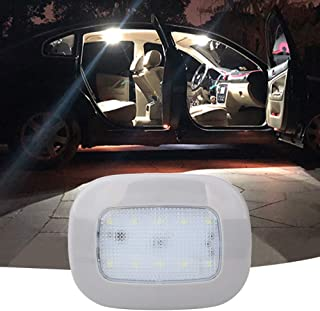 Auto Car Ceiling Roof Lights Magnetic Dome Light with Universal USB Rechargeable Wireless 10 LEDs for Interior and Exterio...