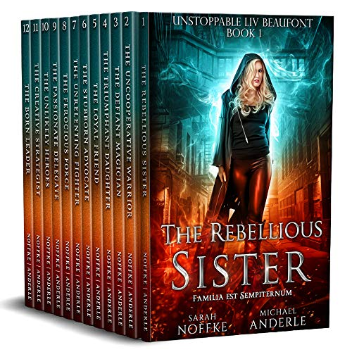 Unstoppable Liv Beaufont Complete Series Boxed Set (Books 1 - 12) (Eng