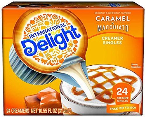 International Delight Single-Serve Coffee Creamers, Inspirations Caramel Macchiato, (48 count)