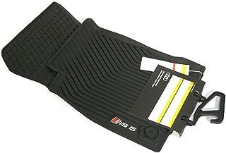Audi 8W6061221041 Gummi Fußmatten vorn Gummimatten Allwettermatten RS5 Coupe Cabriolet schwarz