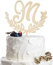 wedding cake monograms