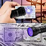 Vansky UV Torch 21 LEDs, UV Flashlight Black Light for Pet Urine Detection, Blacklight Detector for Dog Urine, Pet Stains, Bed Bug on Carpet/Rugs【3 x AAA Batteries Included】 11