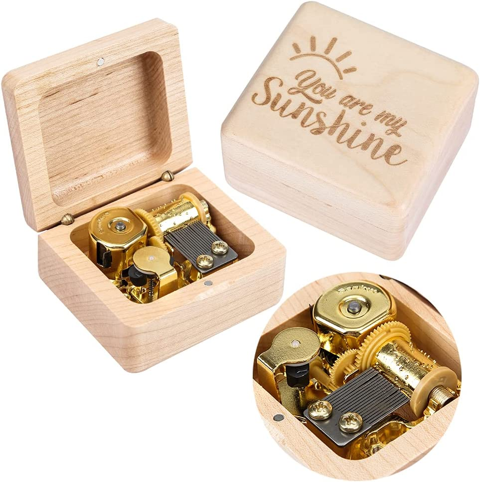 KKTOHAY You are My Sunshine Maple Music for Box Latest item Gift Birthday Ch Now free shipping