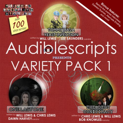 Audiblescripts Variety Pack 1 audiobook cover art