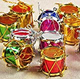 Best Christmas Trees - Festive Creations 24 pcs Multicolour Small Drum Christmas Review
