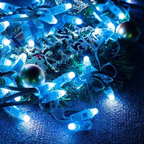 XIANGL Luci Stringa per Esterni Lampada a LED con Stringa Pixel 12MM Lampada modulo LED Rotondo indirizzabile 50 PCS/Stringa IP68 Impermeabile Decor Outdoor Garden Garden Courtyard Party, Wed
