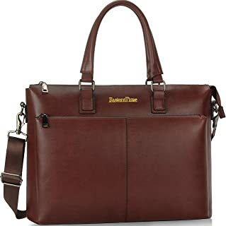 Briefcases for Men,15.6 inch Laptop Bag,Work Business Travel Computer Bag with Multi