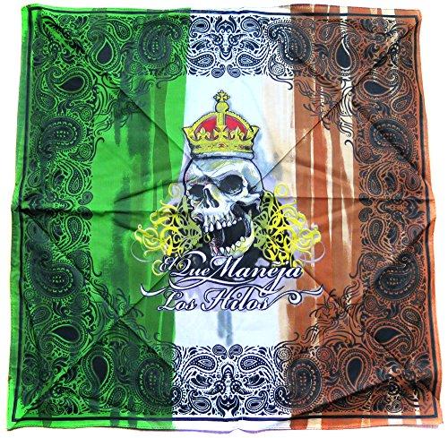 Bandana tete de mort masque cagoule skull Call of Duty moto scooter ghost gangsta mexique